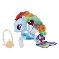 MLP The Movie Rainbow Dash Flip & Flow Seapony Brushable