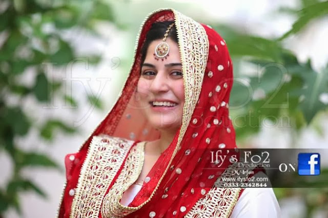Sanam Baloch,Wedding Pic,Nikah Day