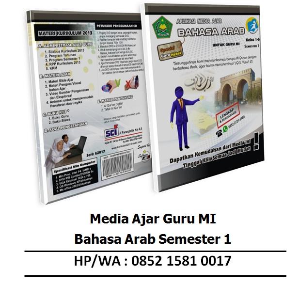 Aplikasi Media Ajar Mi Bahasa Arab Semester 1