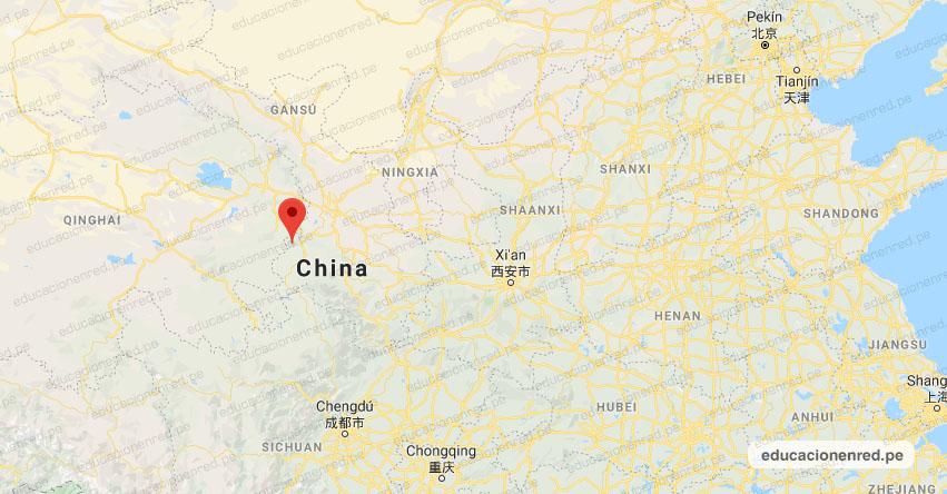Terremoto en China de Magnitud 5.7 y Alerta de Tsunami (Hoy Domingo 27 Octubre 2019) Sismo - Temblor - EPICENTRO - Xiahe - Gannan - Gansu - USGS