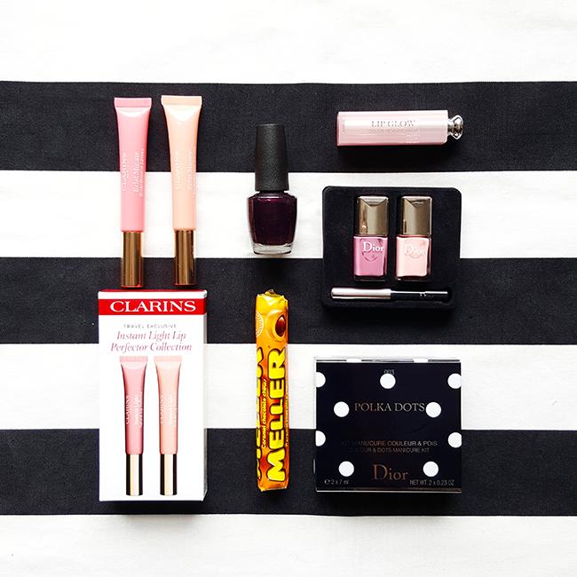 beauty, nailpolish, Nagellack, Lipbalm, Clarins, Dior, OPI