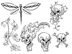 tattoo simple skull tattoos designs sketch outline easy outlines beginners sketches brass charlotte flash drawings funny knuckle stencil patterns library
