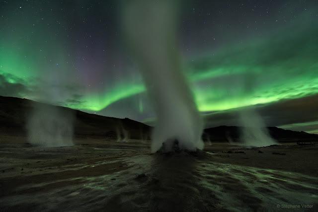 Đêm về ở hành tinh ma quái. Hình ảnh: Stéphane Vetter (Nuits sacrées).