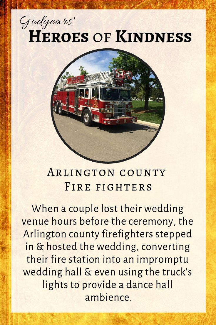 Heroes of Kindness - the Arlington County Fire fighters