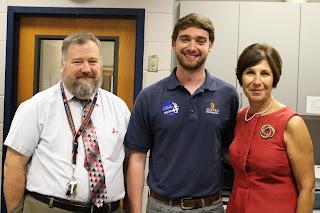 Catholic Class of 2011 Alum John Talbot visits Campus 2
