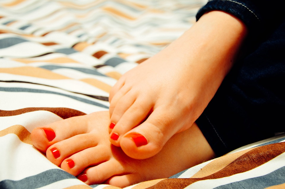 Pedicured Feet from the Best Pedicure Tips for Beautiful Feet