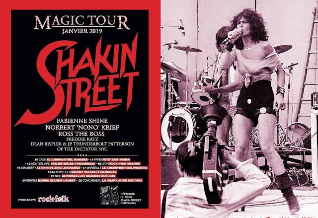 SHAKIN STREET