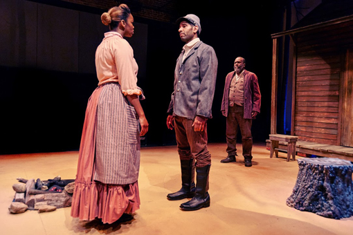 Father Comes Home from the Wars | Actor's Express | Photo: Christopher Bartelski