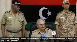 Le maréchal libyen Khalifa Haftar