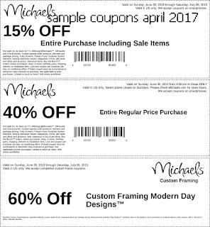 Discount coupons april