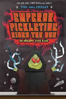 bookcover of EMPEROR PICKLETINE RIDES THE BUS (Origami Yoda #6)  by Tom Angleberger