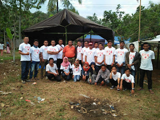 Relawan  Jokowi Lakukan Aksi Sosial di Desa Jeringo Lombok Barat