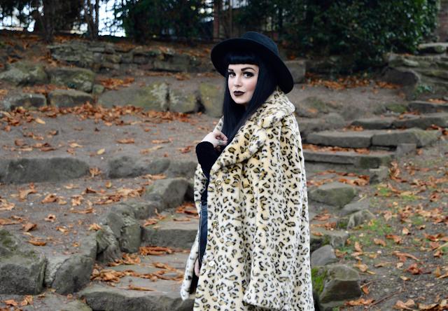 Leopard Print Topshop Coat