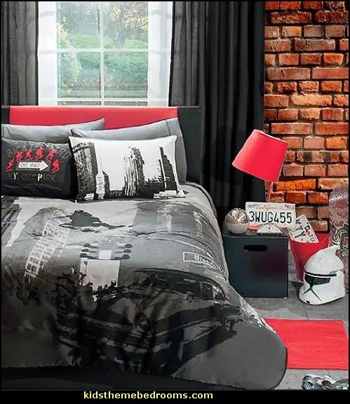 Decorating Theme Bedrooms Maries Manor Urban Theme