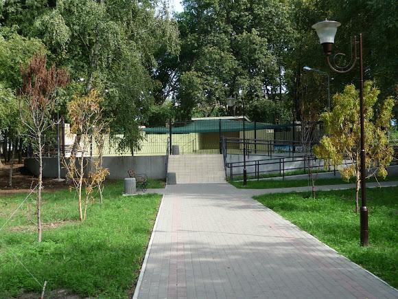 Краматорск. Сад Бернацкого. Танцевальная площадка