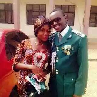 Photos: Army Captain killed by armed robbers two months to his wedding laid to rest in Taraba State