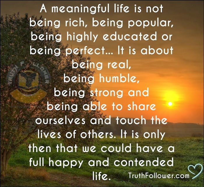 Quotes About Meaningful Life