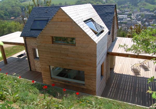 Una piccola casa sostenibile in normandia blog di for Piccola casa produttrice di cianografie