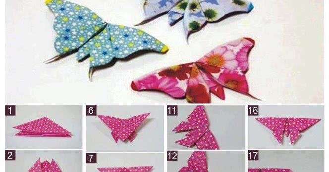 Ayampenyek Cara Membuat Rama Origami