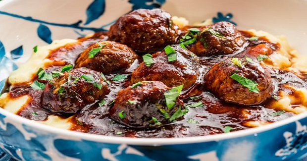 Stout Meatballs With BBQ Sauce Recipe