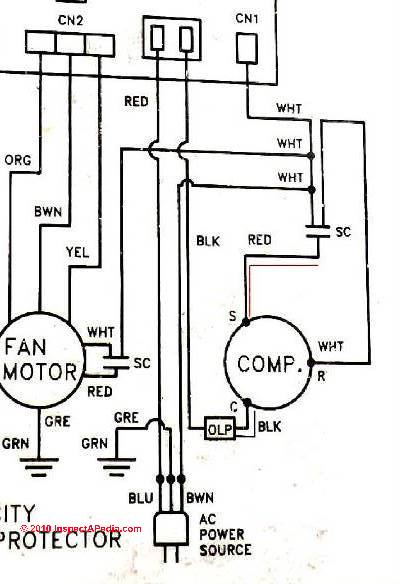120 ac motor wiring