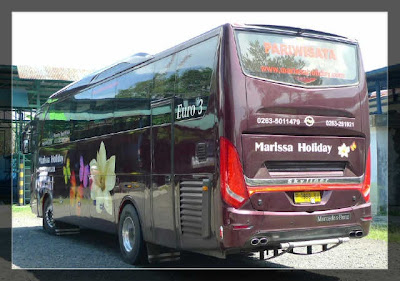 Foto bus pariwisata  Skyliner PO Marissa Holiday