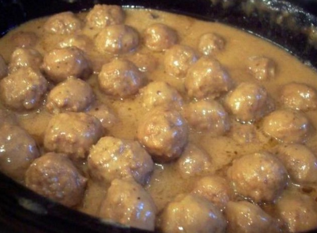 French Onion Meatballs Cooking For You