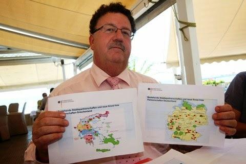 Δήμαρχοι που συνεργάζονται με τον γερμανό Φούχτελ