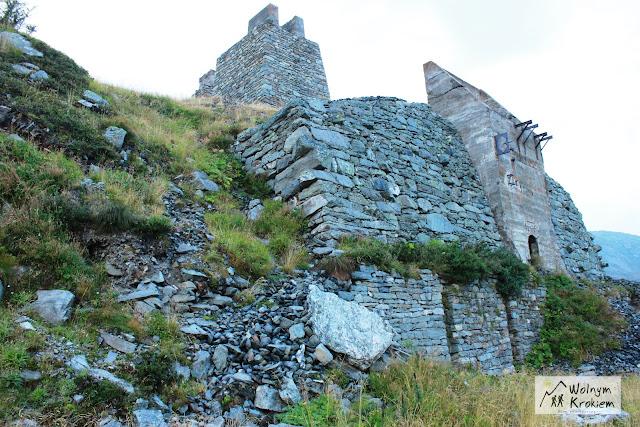 Ruiny Zamku w Montespluga