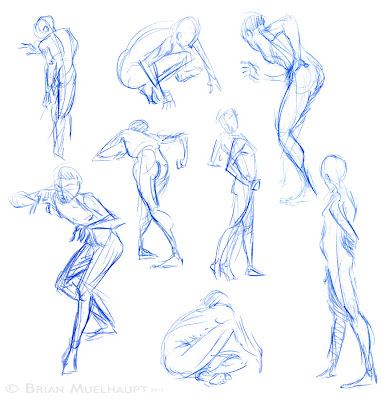 Pants Weather Press: ASIFA Pose Drawing Session FALL ...