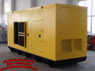 Máy phát điện Perkins 1500kva 4012-46TAG2A