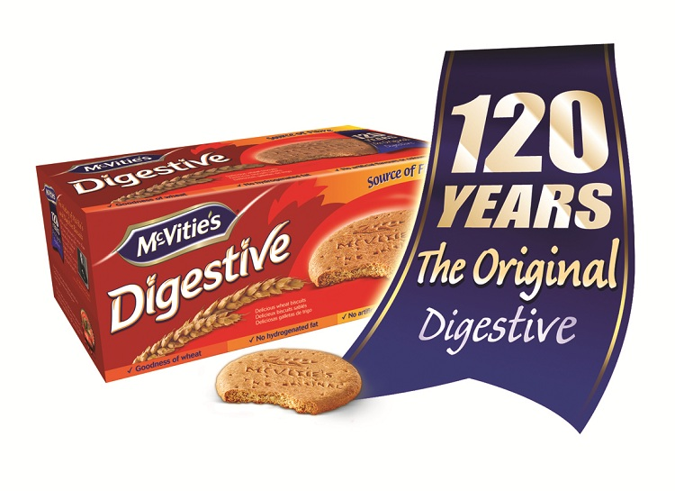 McVitie's Digestive: 120th Year of Making Great-Tasting Biscuits