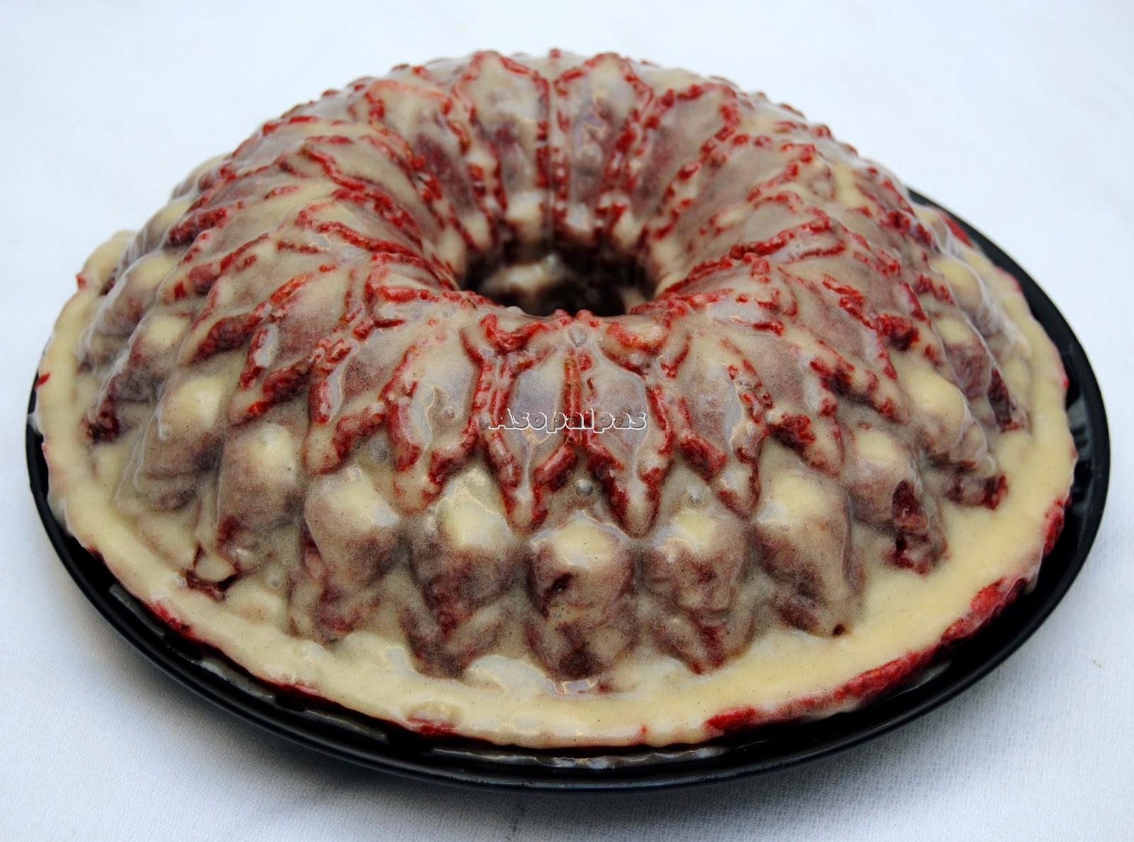 Bundt Cake Red Velvet Royale