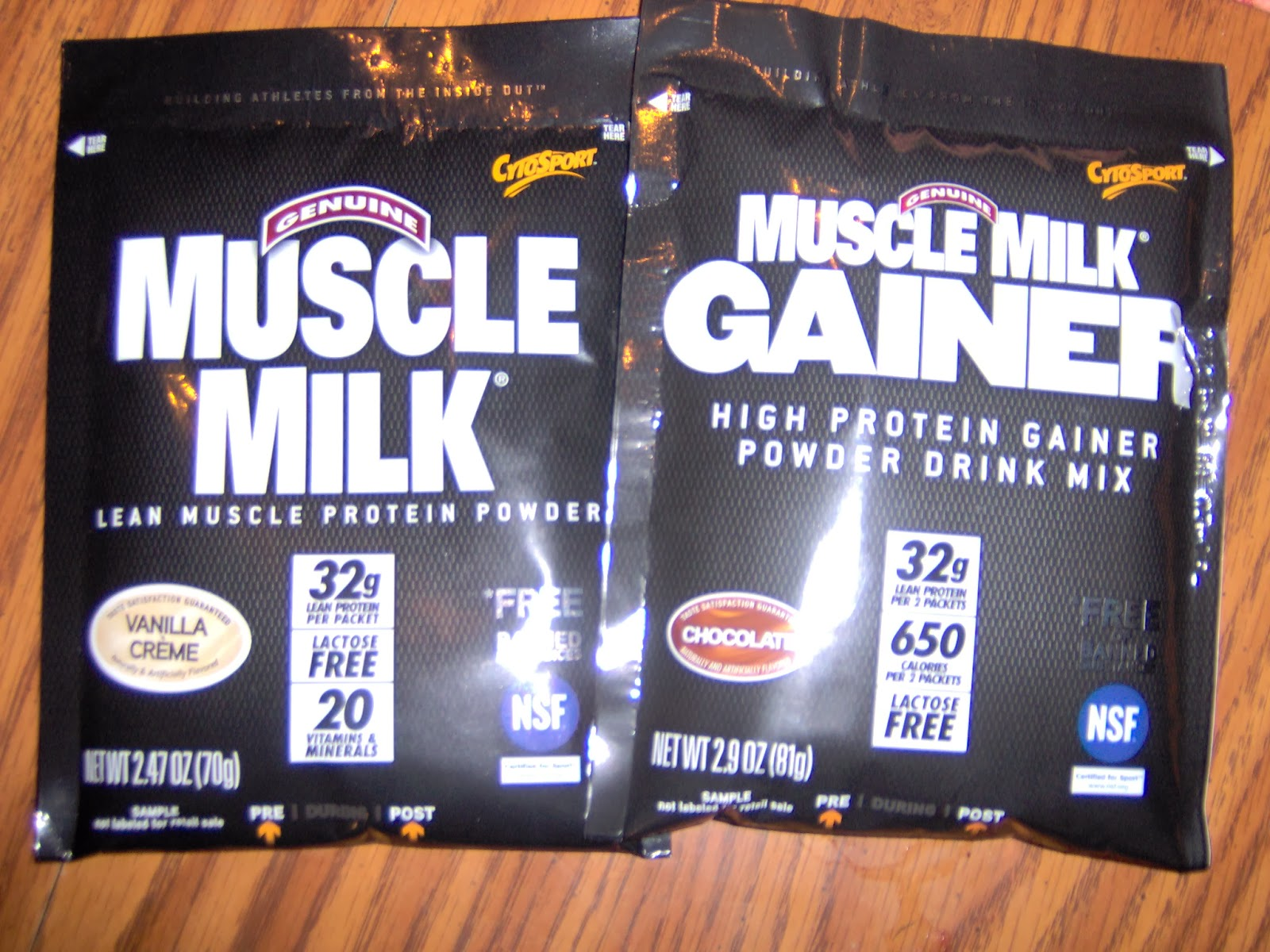 Review - Muscle Milk