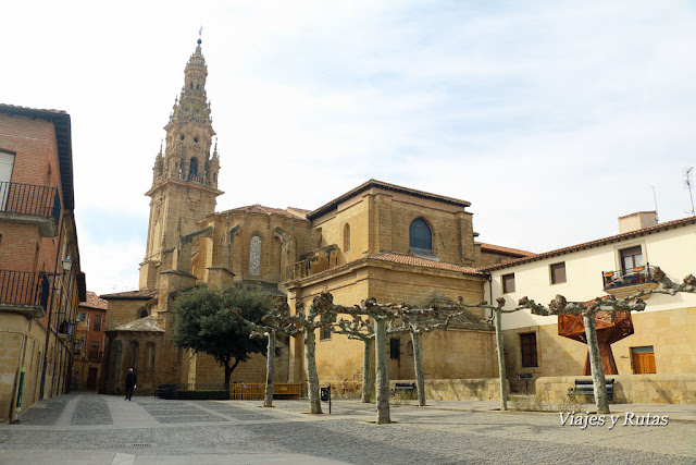 Catedral. Plaza de España, Santo Domingo de la Calzada, La Rioja