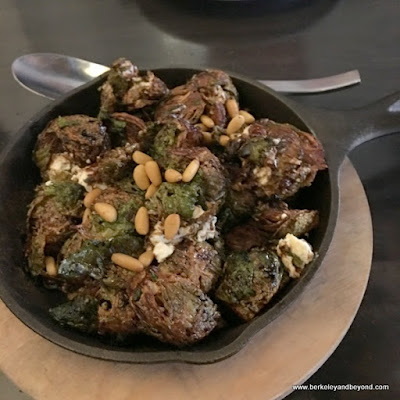 delicious Brussels sprouts at Nico's 1508 in Berkeley, California