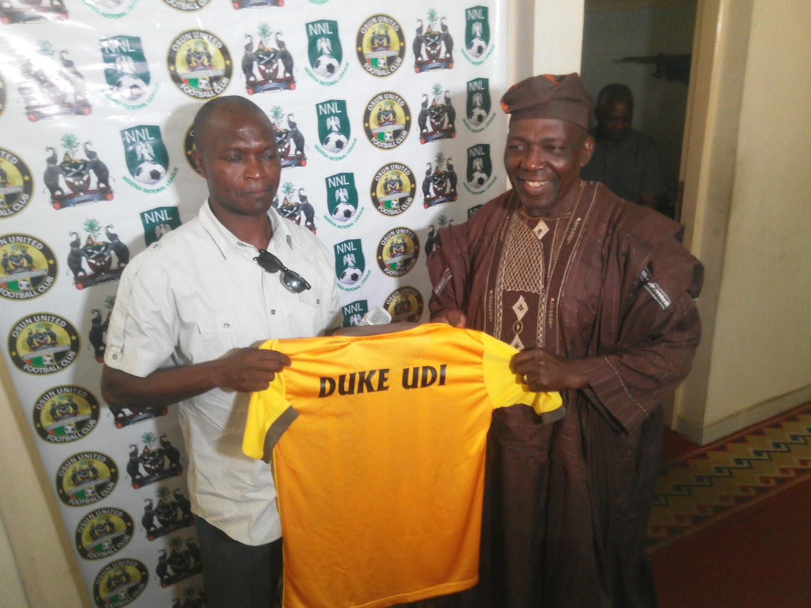 Duke Udi vows to build a formidable Osun United team