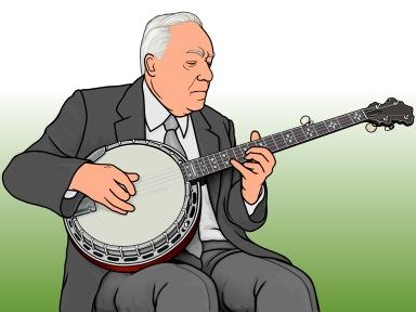 5弦バンジョーのピッキングを確立したアール・スクラッグス Earl Scruggs