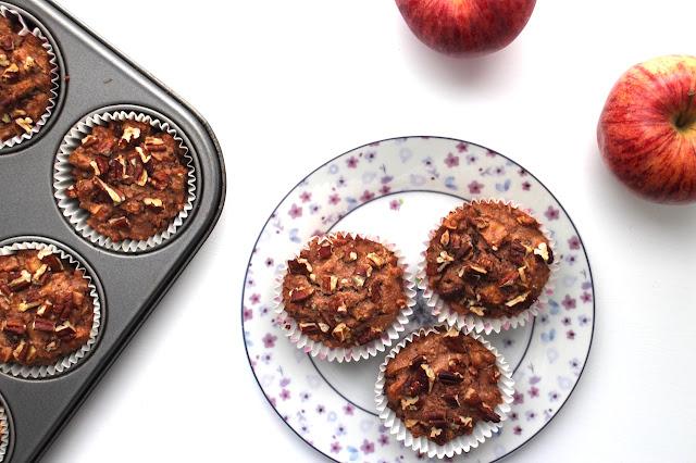 Apple and Cinnamon Spelt Muffins