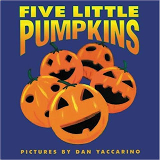 Five Little Pumpkins Book
