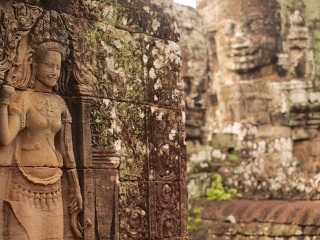 Apsara-Templo-Bayon-Angkor-Camboya