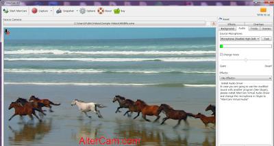altercam webcam software