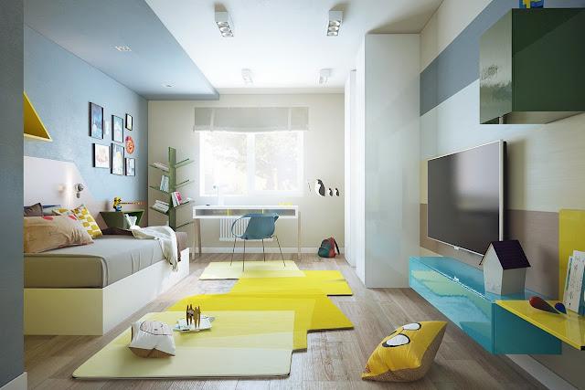 Nội thất căn hộ chung cư Golden Field.