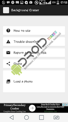 Cara Mudah Menghapus Background Foto, Logo, Icon Transparan di Android