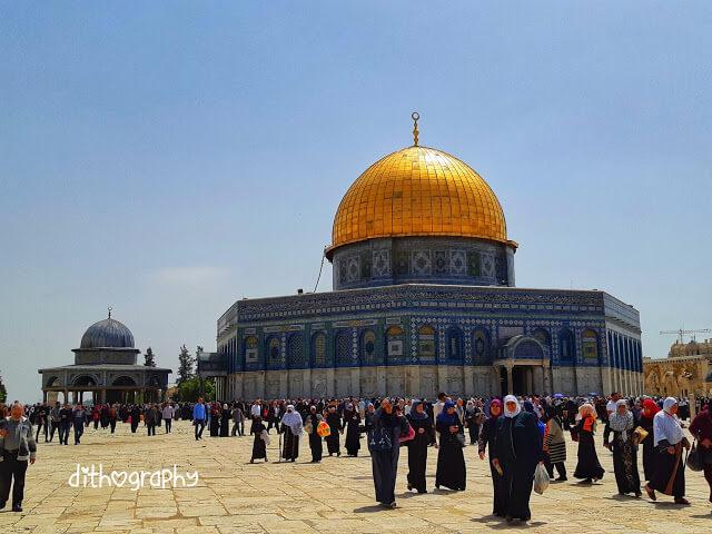 Masjid al Aqsha di Baitul Maqdis Palestina