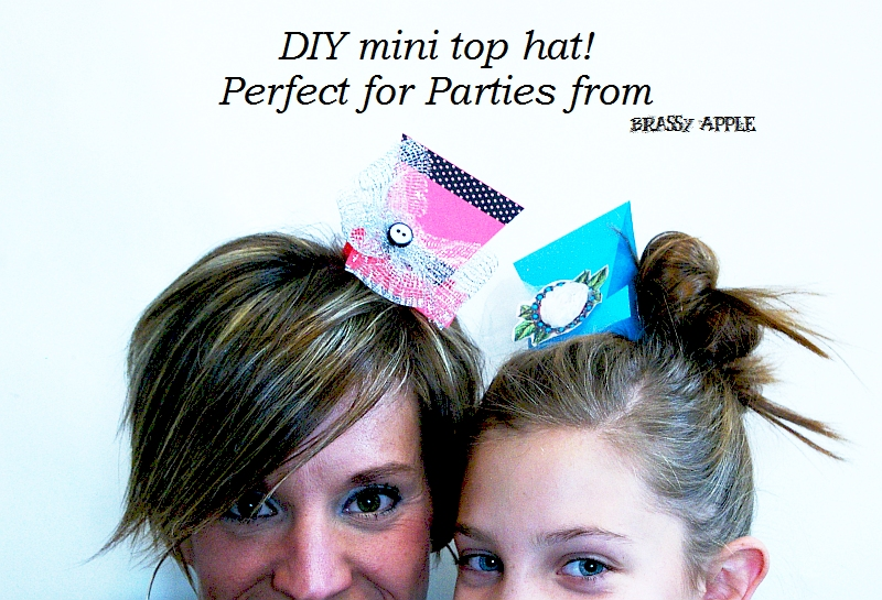 7830e9039 DIY Mini top Hat
