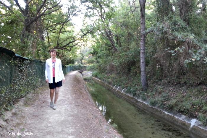 Paseando junto al canal