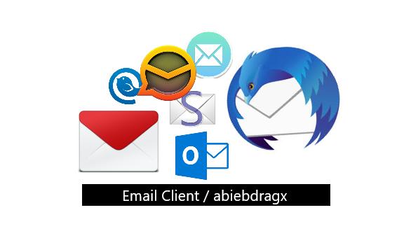 7 Aplikasi Email Client Terbaik dan Gratis. Microsoft Outlook, Thunderbird, Opera Mail, Sylphed, em Client, Mailspring, Mailbird, abiebdragx