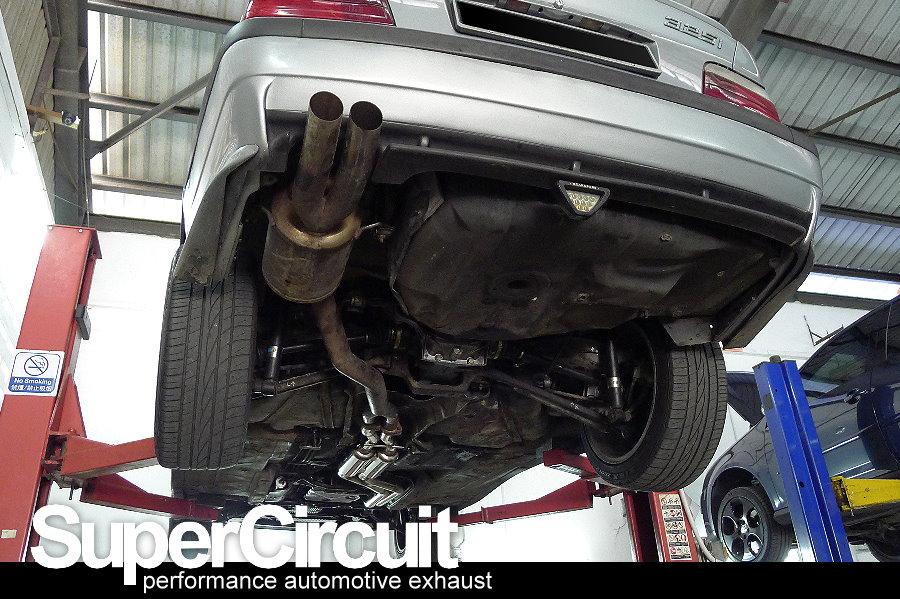 SUPERCIRCUIT Exhaust Pro Shop: BMW 3 Series (E36) Centre Exhaust Section
