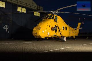 RAF Westland Wessex XR498 Rescue Cosford